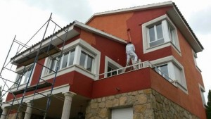 casa en Cali pintar fachada